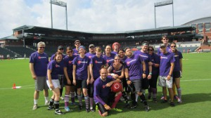 Kickball Team Photo